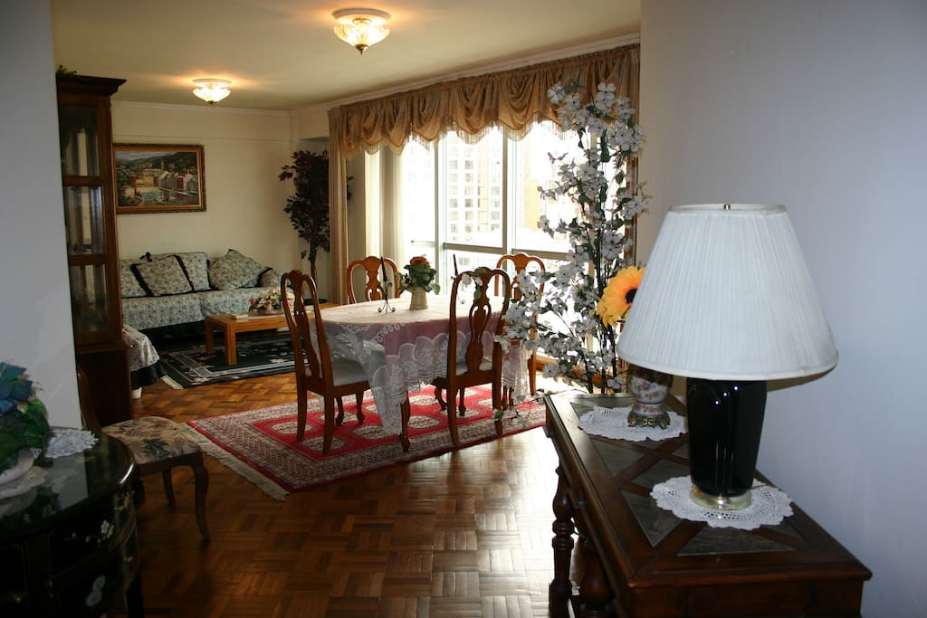 Classic decoration for living and dining rooms