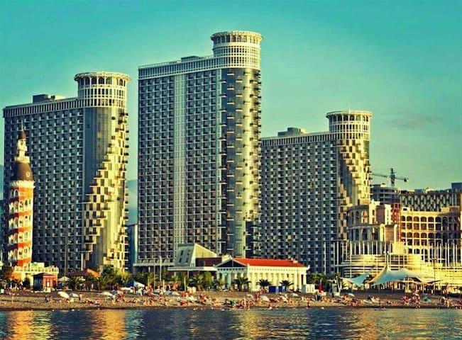 Новый апартамент на 20 м этаже - Batumi - Departamento