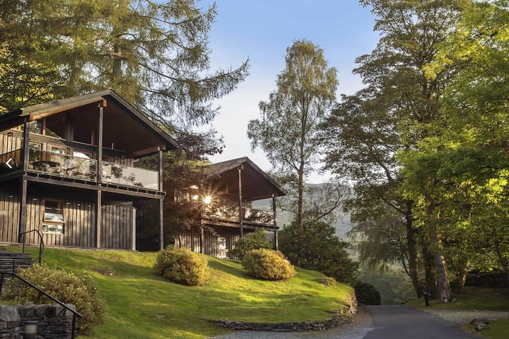Luxury 5* Scandinavian Lodge on Langdale Estate