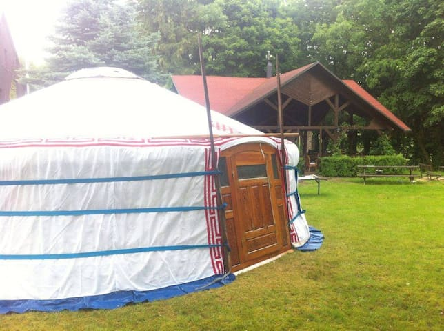 Yurt at Yurt and Tiny House Enclave Hejnice