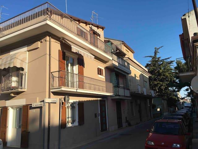 La casa in via Spaventa