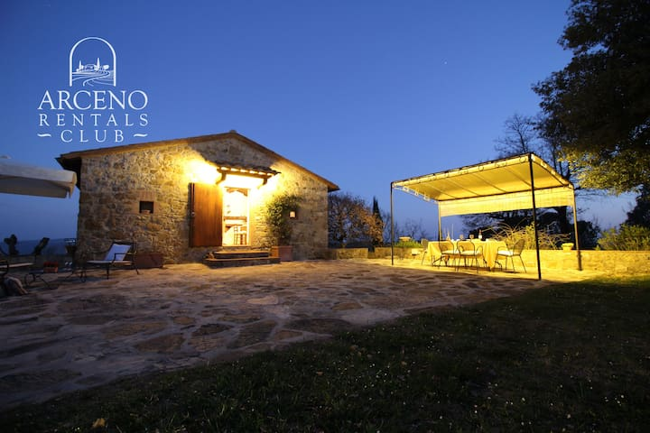 Villa Casanova Arceno Rentals Club Chianti Pool