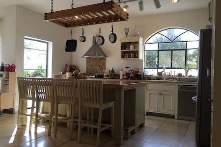 A beautiful Israeli countryside house - Ginaton - Hus