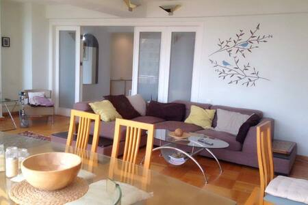 2 bedrooms appartment in front of the boulevard - Baku