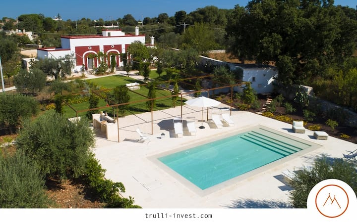NEW : PALAZZO D'ARAGONA(pool, luxe, relax, nature)