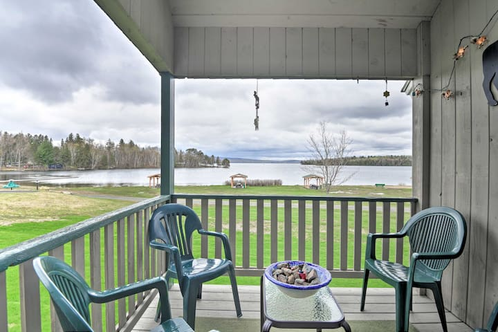 Rangely Condo w/ Lake View + Boat Ramp Access