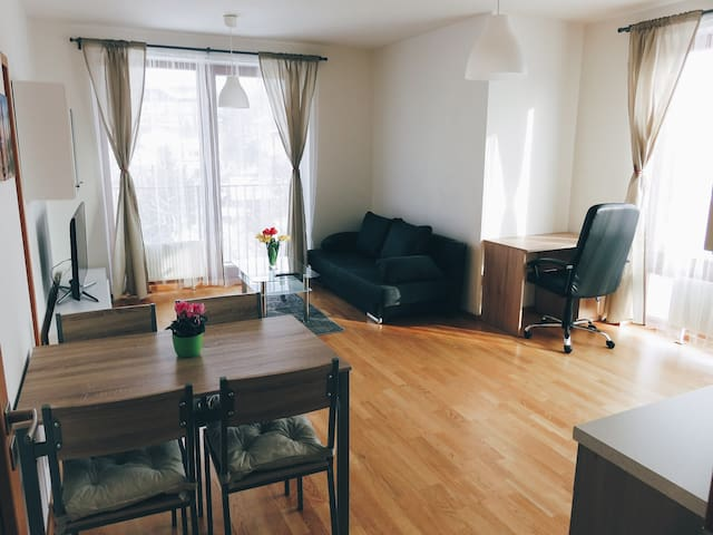 Luxury equipped new Apartment with parking - Říčany - Daire