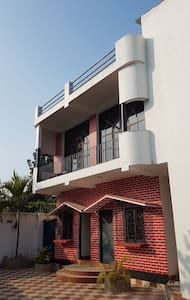 UTSAV house is a 2 bhk pool bunglow with dinning.
