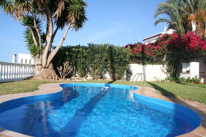 Spacious villa with seaview and private pool - Salobreña - Villa