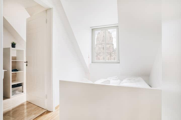 Neues Apartment mit Frauenkirchenblick für 6 Pers.