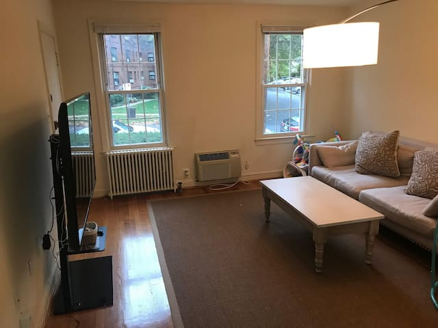 Comfortable 1BR Apartment in Downtown Bethesda.