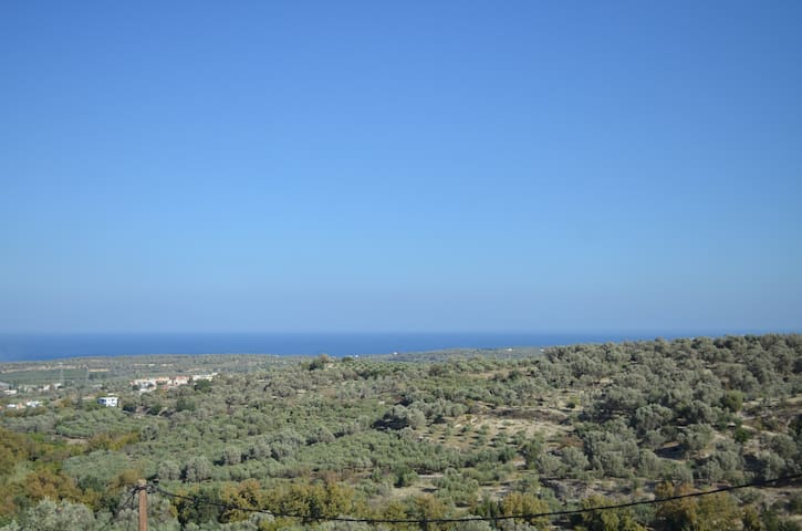 Cretan Villa with Panoramic View - Rethymno - Villa