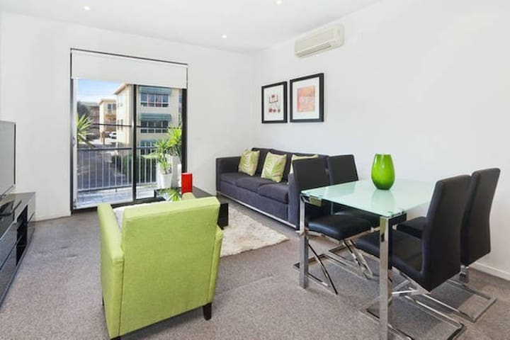 Luxury 1 BR apartment in the heart of St Kilda - Saint Kilda - Departamento