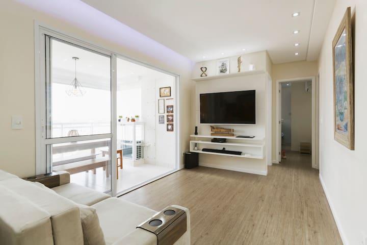 Apartamento novo em Cond. de Luxo