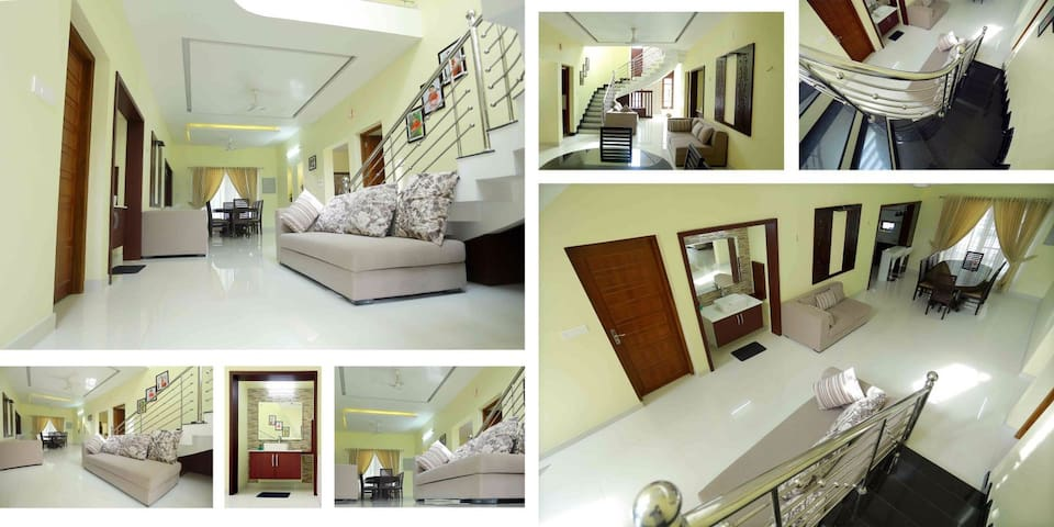 White Cottage, Trendy, modern,AIRBNB verified home - Ernakulam - Bungalow