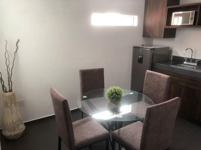 Seguridad, comodidad, limpieza, ubicación, único.