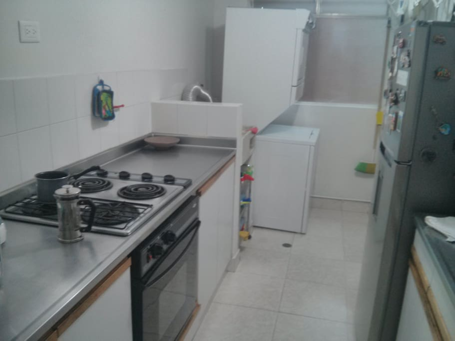 Cocina - Kitchen (is being renovated, will post new photos soon!)
