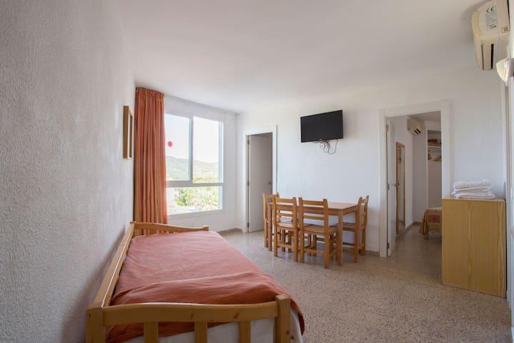 Apartamento 2 dormitorios con Terraza - 6 Pax