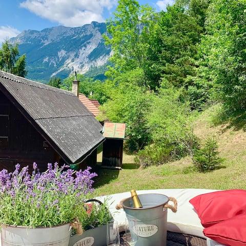 Újonnan felújított ház - Reichenau természetvédelmi terület