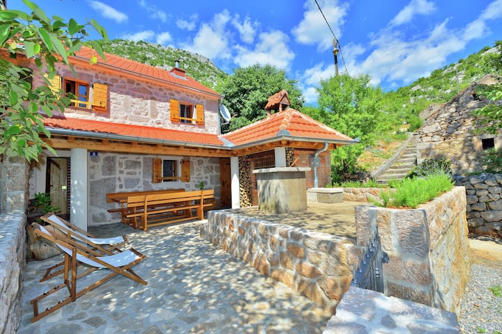 Cozy Holiday Home with Garden in Starigrad