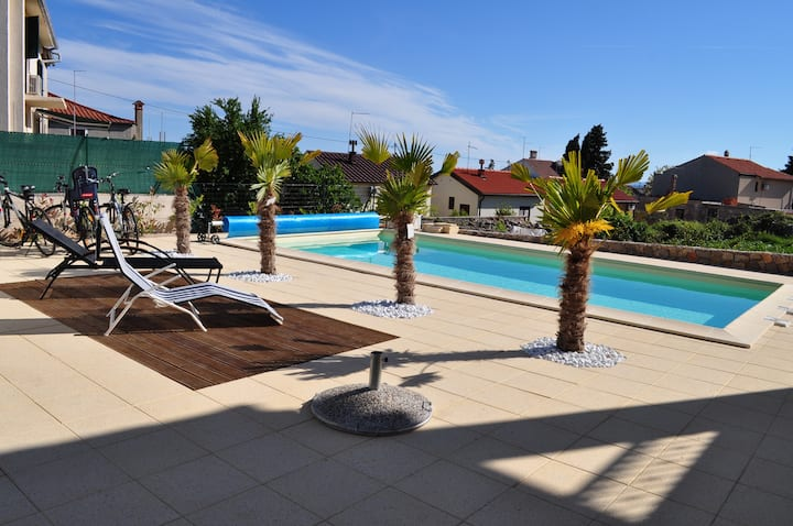 NEW Studio with pool in Kornić (Island Krk)