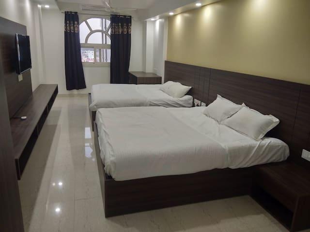 Luxurious 1bhk apartment in kota