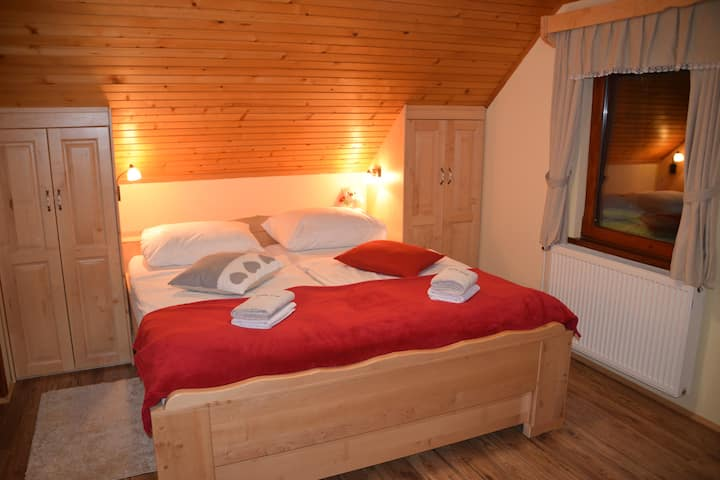 ★Forest view, calm and nice room for 2★