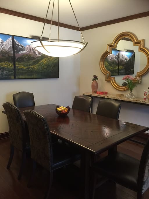 Comfortable dining for all