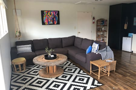 Self contained studio in rural setting