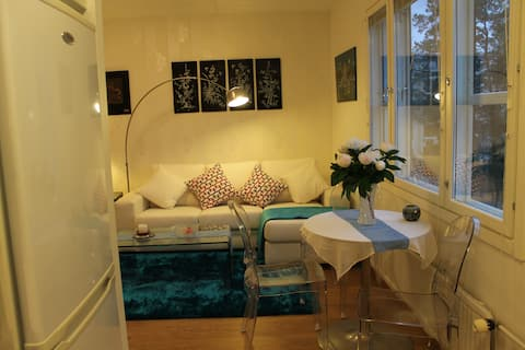 New apartment in a peaceful environment near the M