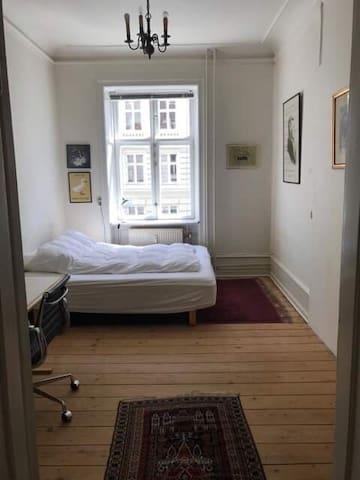 Klassisk lejlighed i midten af København