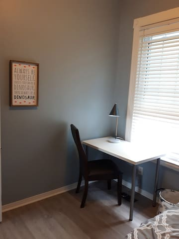 3rd bedroom with study desk.