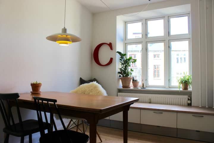 Classic bright and cosy Copenhagen apartment