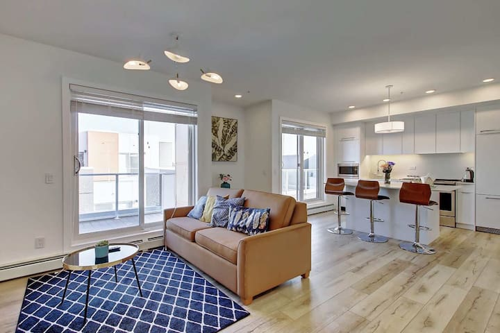 Luxury 2-bedroom+sofa Bed penthouse near UC