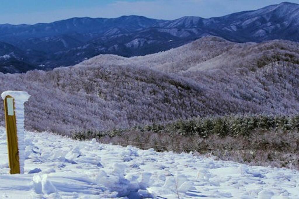 Unaka mountain range