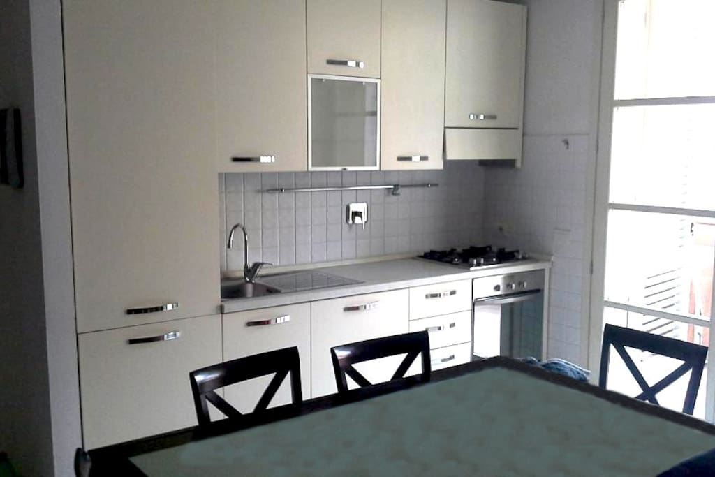 Lovely Double room near to the historic center - Kitchen