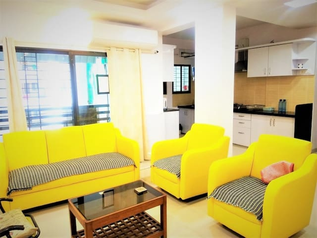 Rachana Sayantara 3 BHK well furnished Apartment