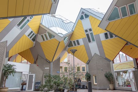 Design Cube House in City-Centre - Rotterdam