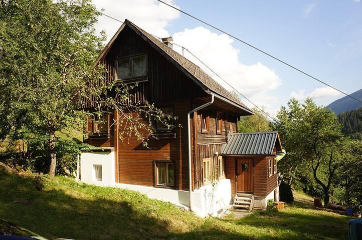 Ferienhütte-Ferienhaus Soelk im Naturpark Sölk - Großsölk - Almhütte