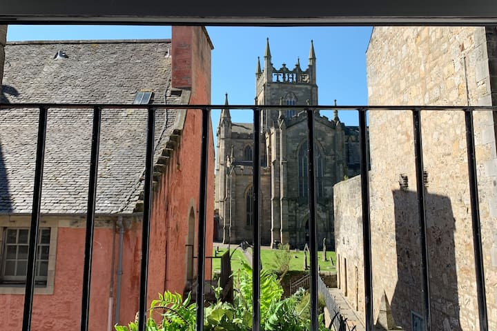 Luxury apartment, best views of  Dunfermline