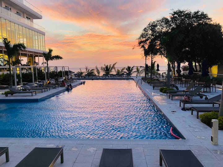 Apartamento frente al Mar Caribe