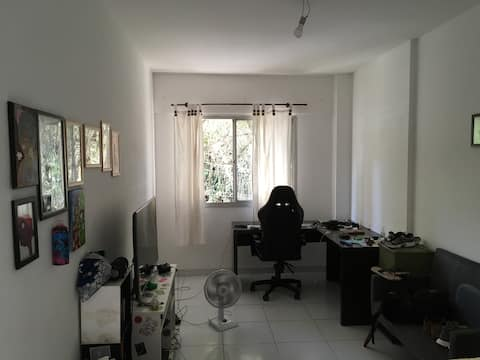 Apartamento no centro (Home Office ou lazer)