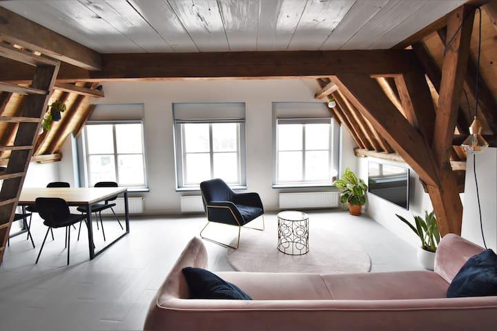 Prachtige loft in centrum van Middelburg.