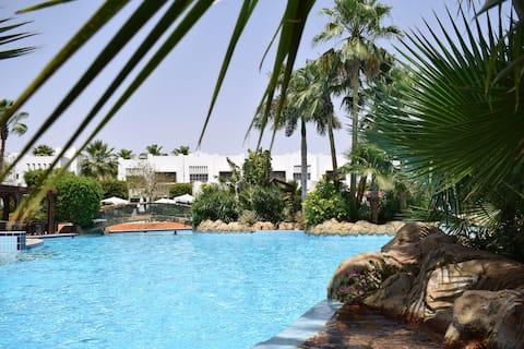 New Studio in Delta Sharm, garden view, free wifi