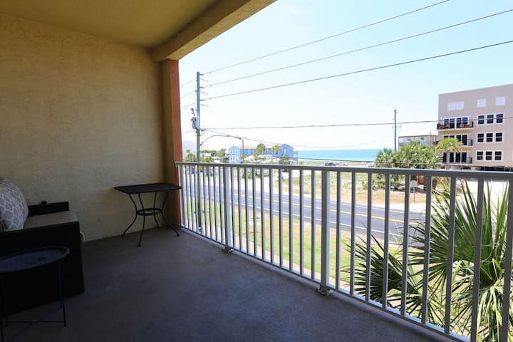 Summerhouse is a gulf view condo complex centrally located in Mexico Beach. ~Summerhouse 209