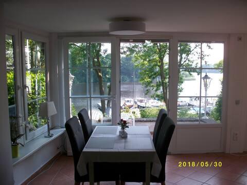 Appartement direct uitzicht op de Eider(Noordzee/Oostzee)1