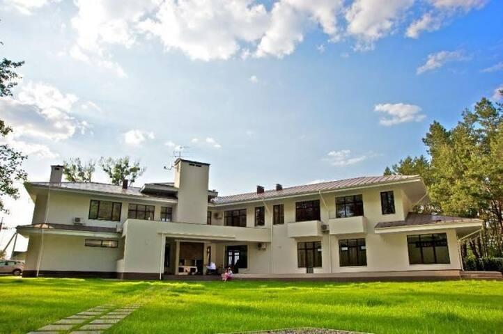 Une maison moderne, élégante