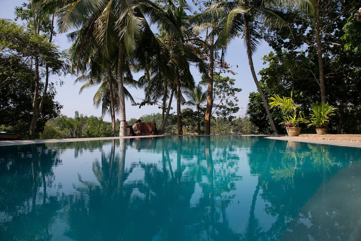 Eco friendly 3 bedroom villa with infinity pool