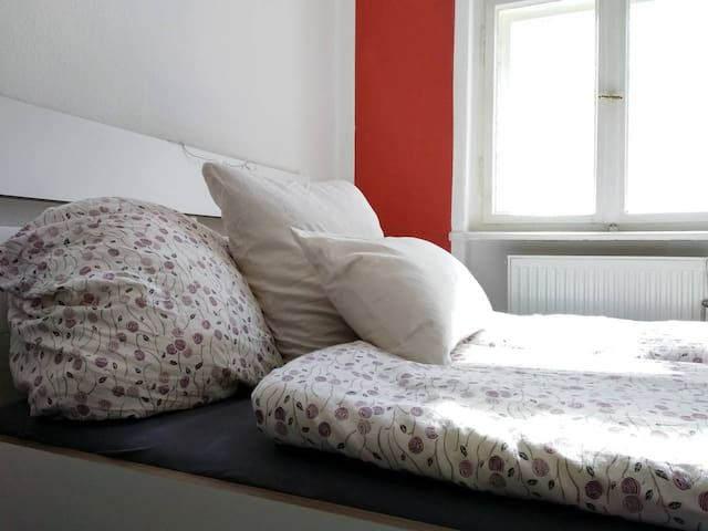 Cozy, quite and bright room for travellers