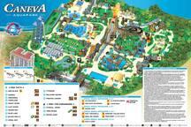 map of Caneva
